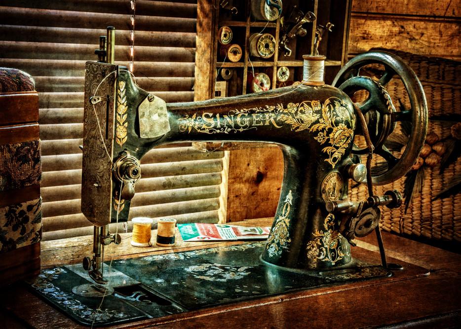 Singer Sewing Machine Photography Art | Ken Smith Gallery