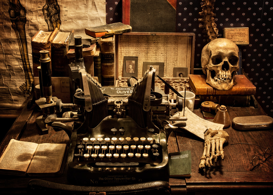 The Doctor S Desk Photography Art   Ken Smith Gallery