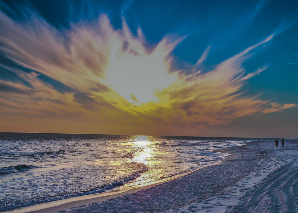 Gulf Shores At Sunset Photography Art   N2 the Woods Photography