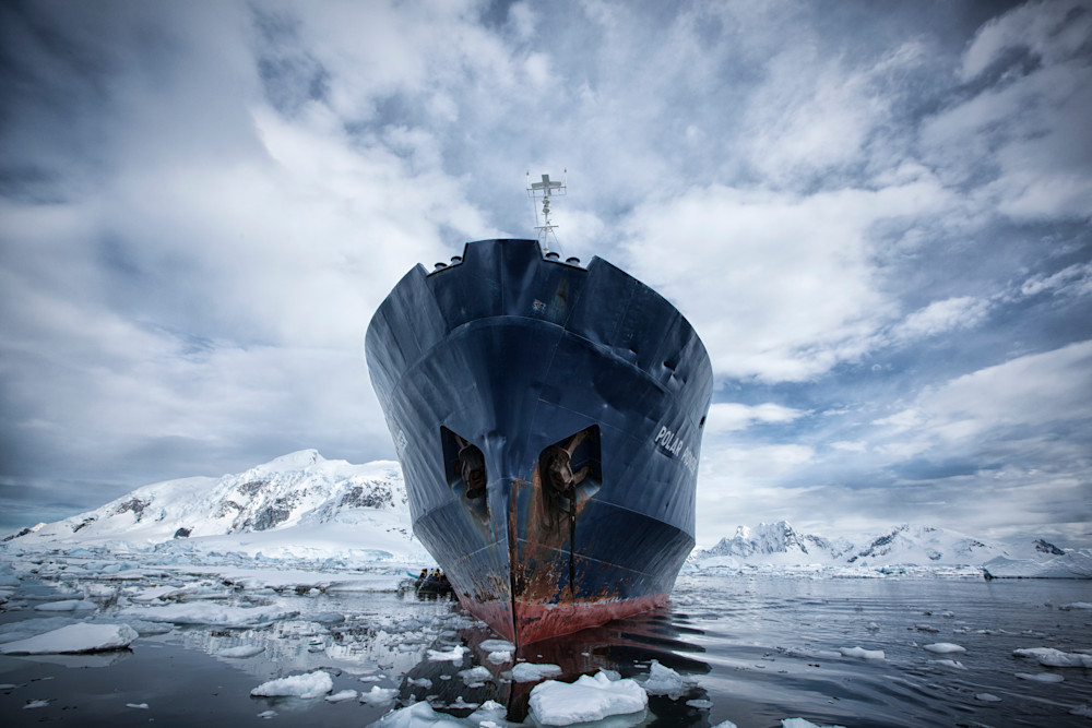 "Polar Pioneer in ""Paradise"""