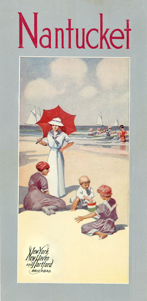 Nantucket New York, New Haven + Hartford Railroad Poster Art | Frame Center