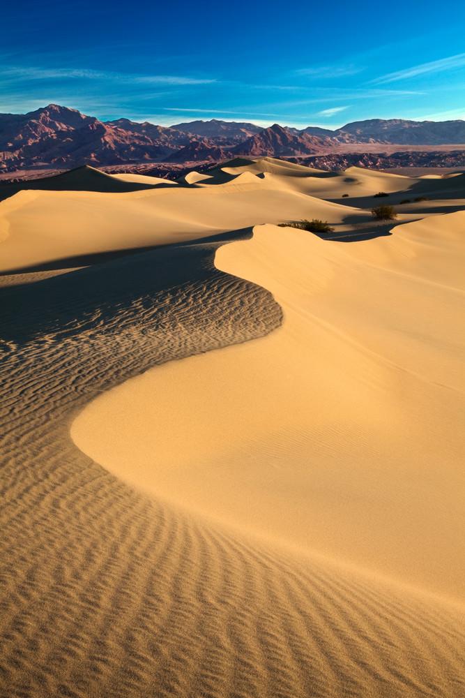Death Valley's Mesquite Sand Dunes