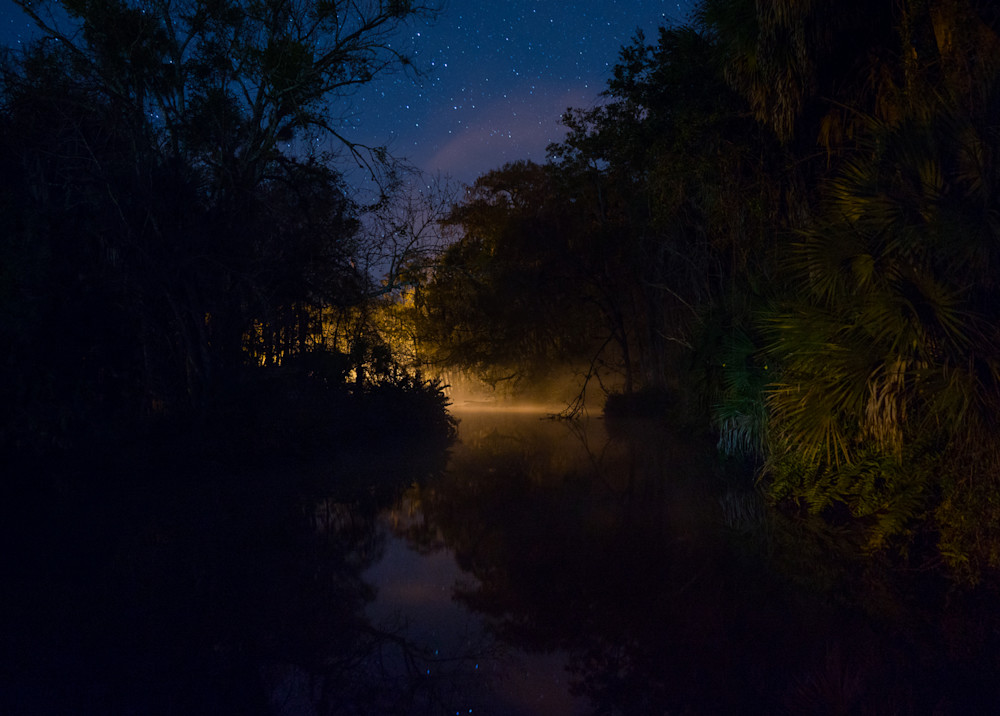 nocturne, photography, Florida, Chassahowitzka, landscape, river