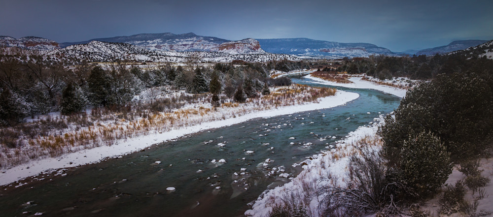 New Mexico, Photography, Chama River, Southwest, landscape, winter