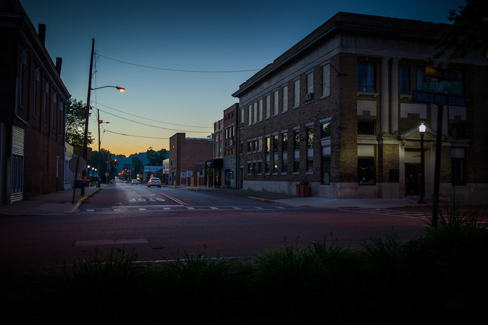 photography, nocturne, Kentucky, Russellville