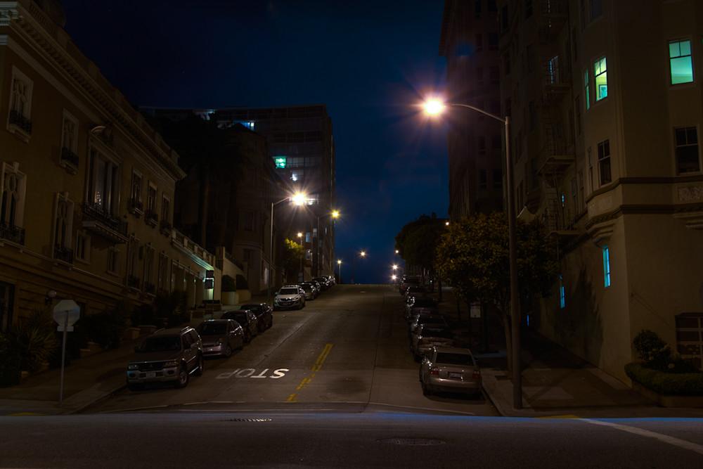 photography, san francisco, nocturne, cityscape