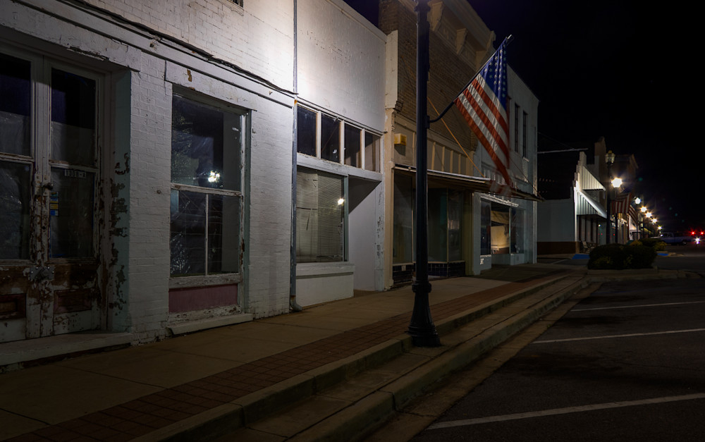 nocturne, photography,  Alabama, cityscape