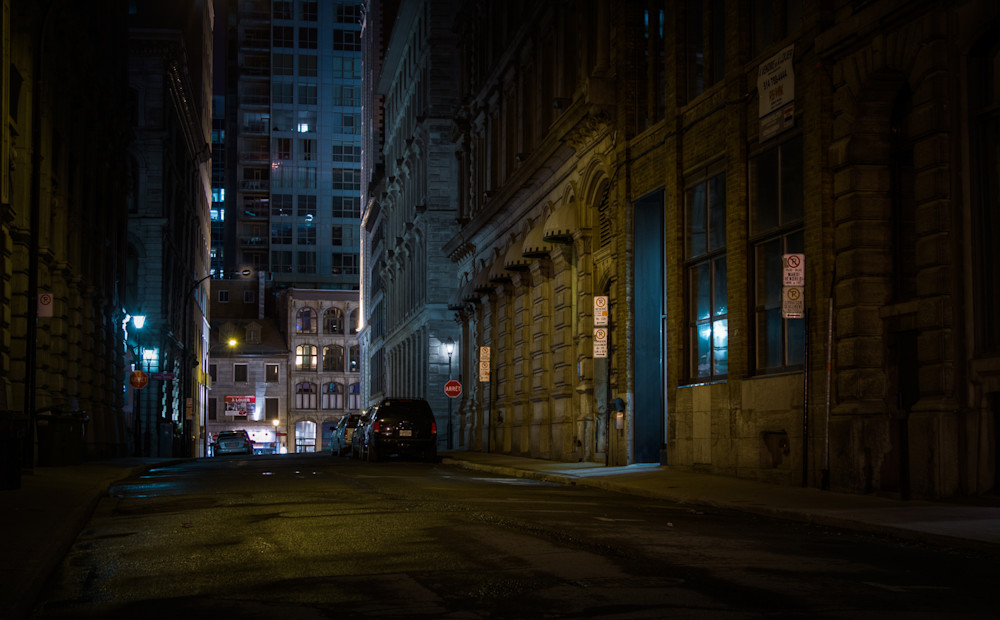Montreal, Photography, nocturne, cityscape