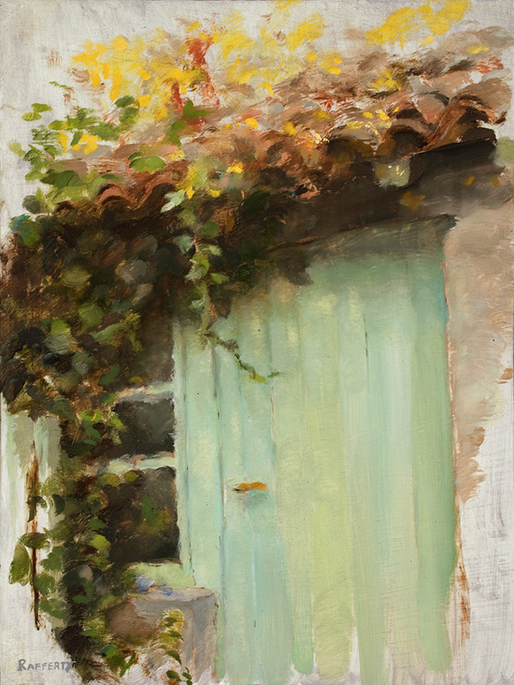 French Garden Shed - Print