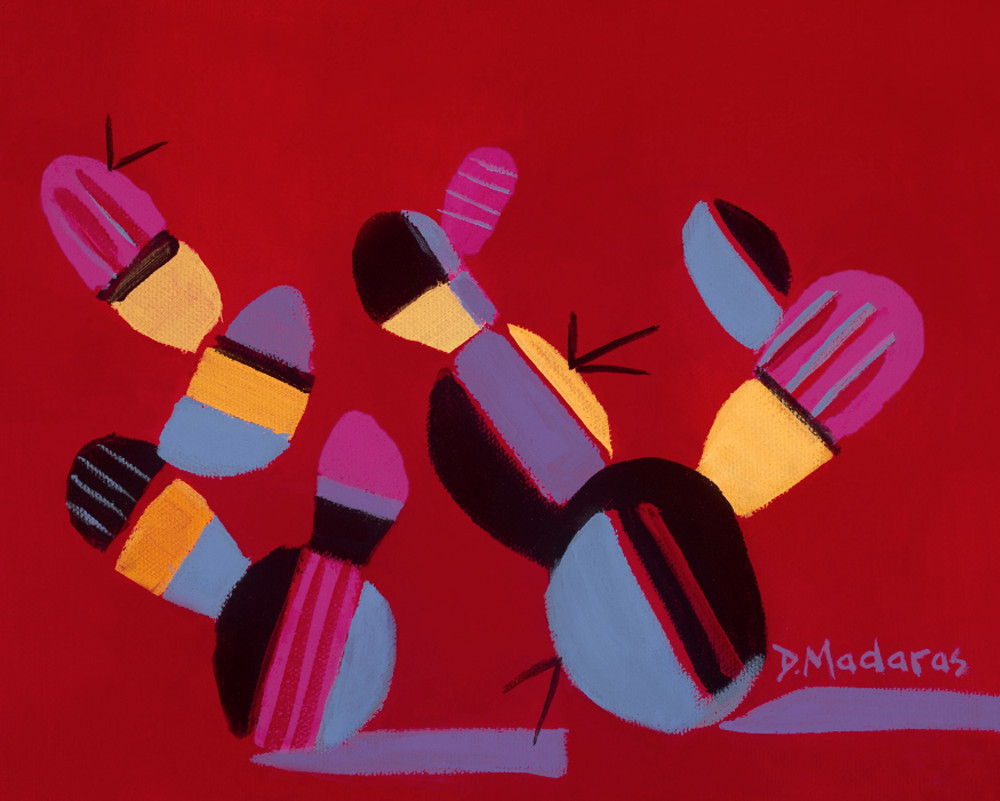 Mambo Prickly Pear | Southwest Art Gallery Tucson