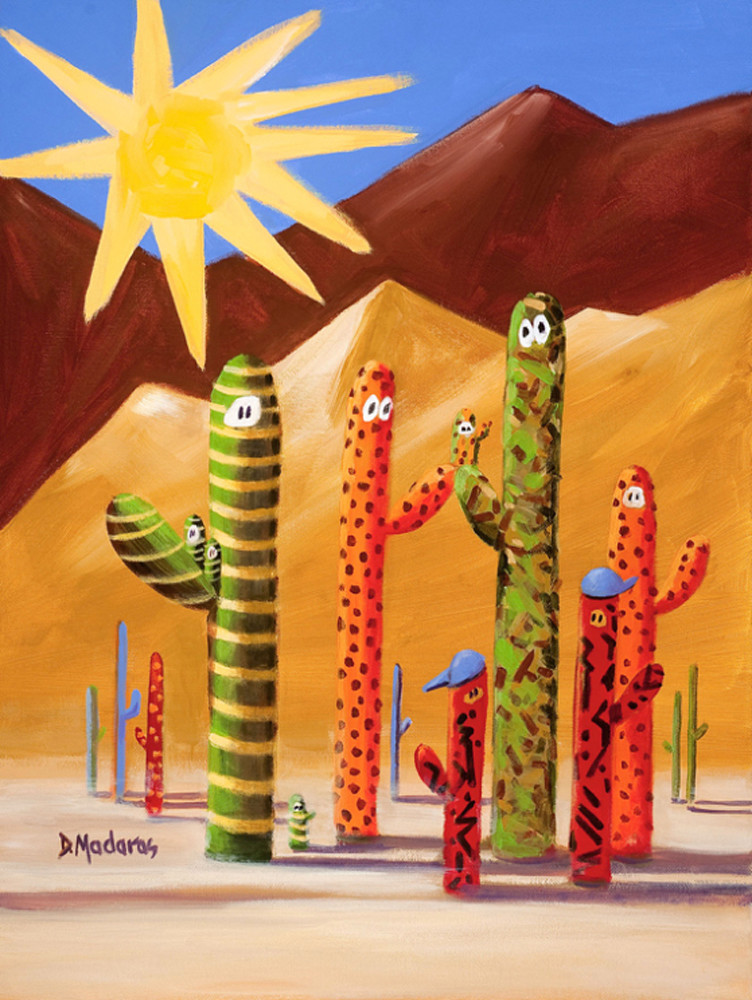 Desert People | Southwest Art Gallery Tucson | Madaras