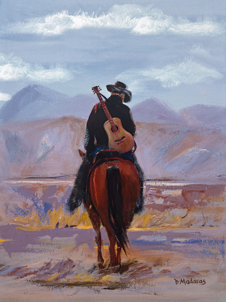 Cowboy Guitar | Southwest Art Gallery Tucson | Madaras