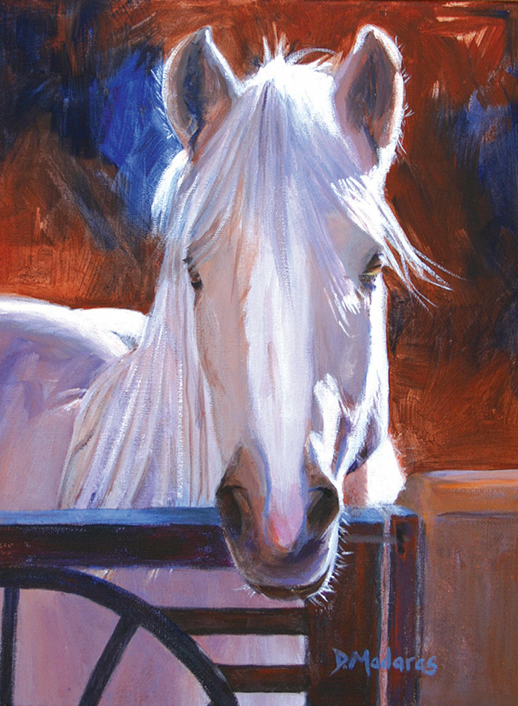 Angel Horse Painting | Southwest Art Gallery Tucson