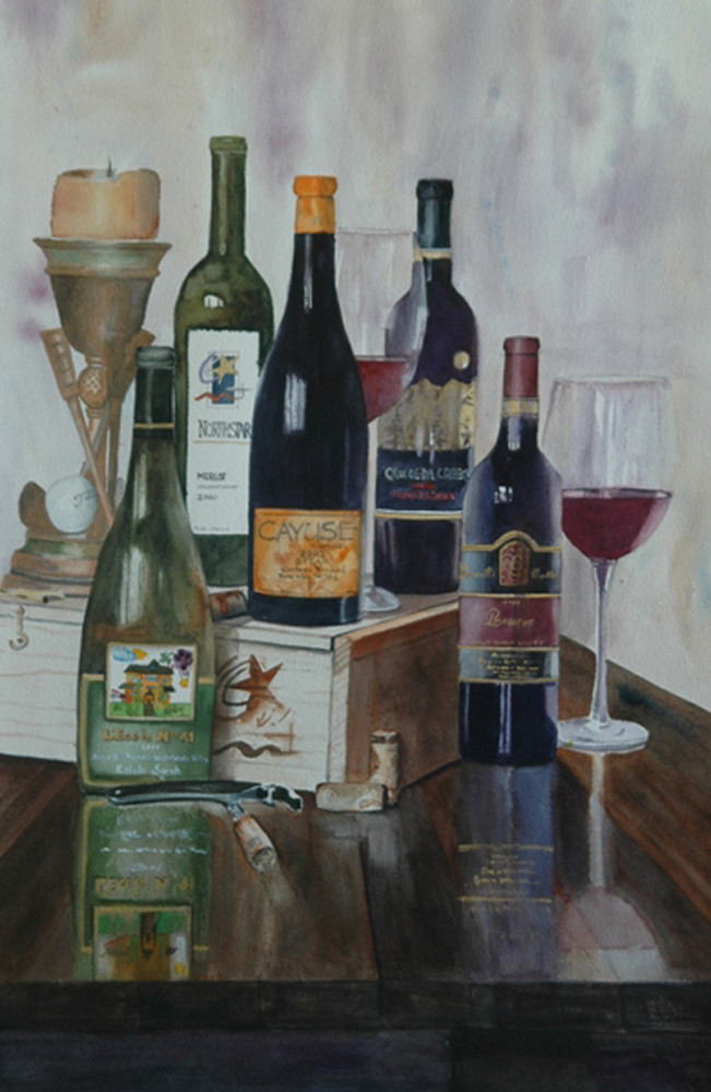 Wine Collection | Southwest Art Gallery Tucson | Madaras