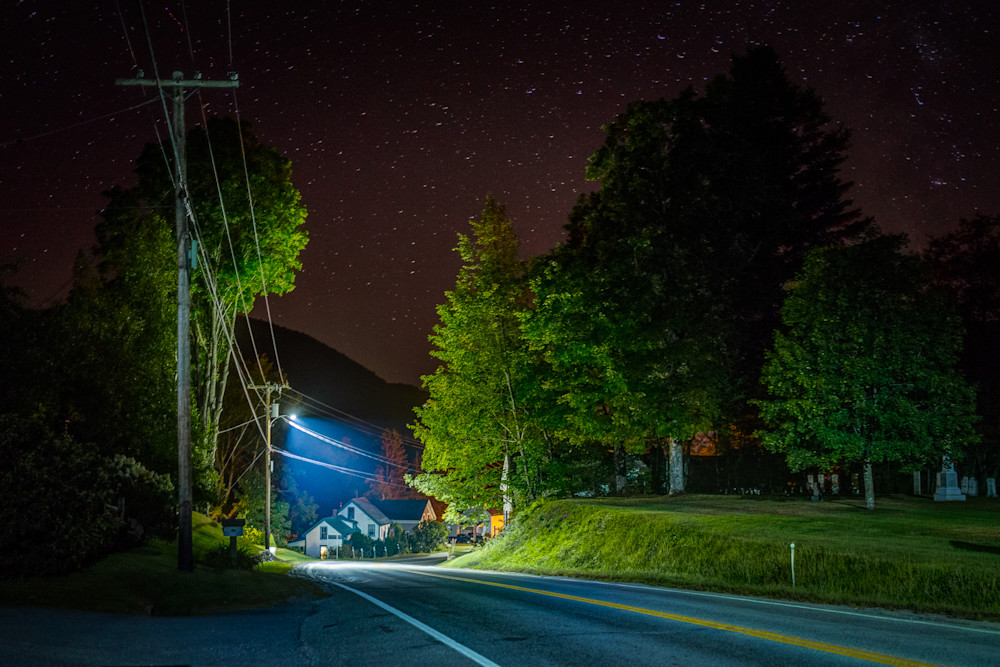 Photography, Vermont, nocturne