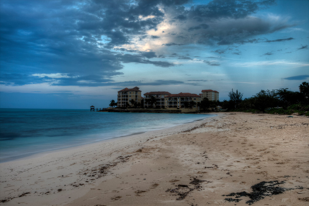 A Fine Art Photograph of Dramatic Shores of Bahamas by Michael Pucciarelli