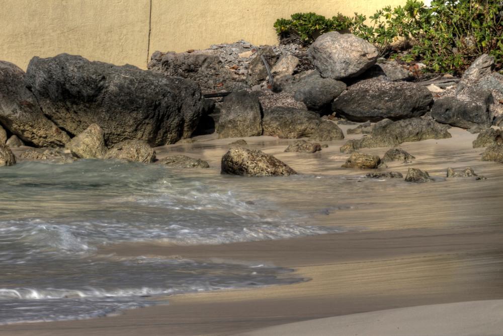 A Fine Art Photograph of Romantic Bahamas Shores by Michael Pucciarelli