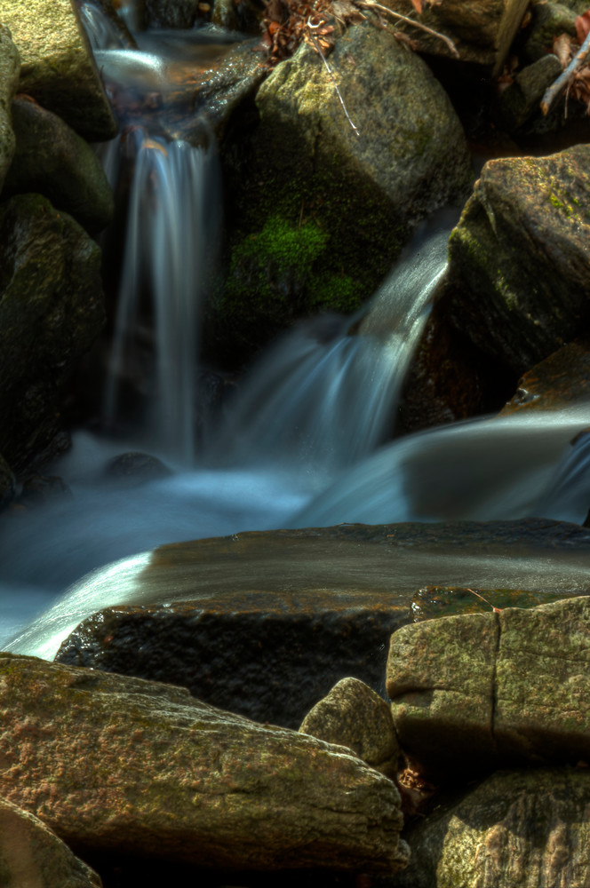 Fine Art Photographs of a Small Waterfall of Susquehanna by Michael Pucciarelli