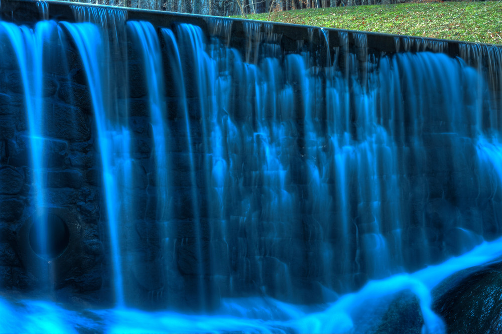 Fine Art Photograph of Susquehanna Waterfalls by Michael Pucciarelli