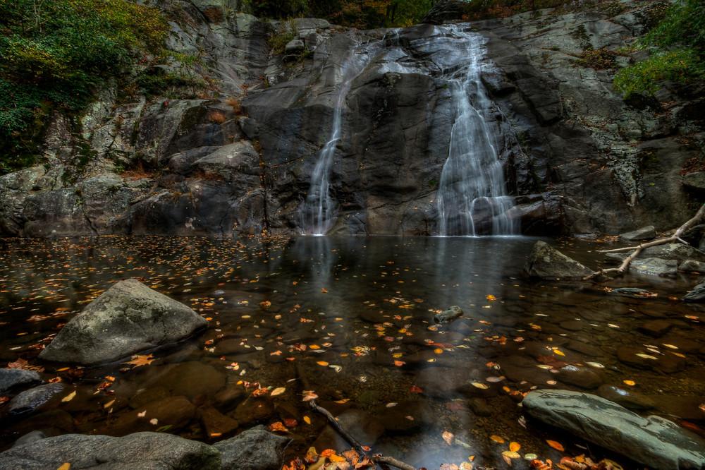 Fine Art Photographs of White Oak Canyon Falls in Shenandoah National Park by Michael Pucciarelli