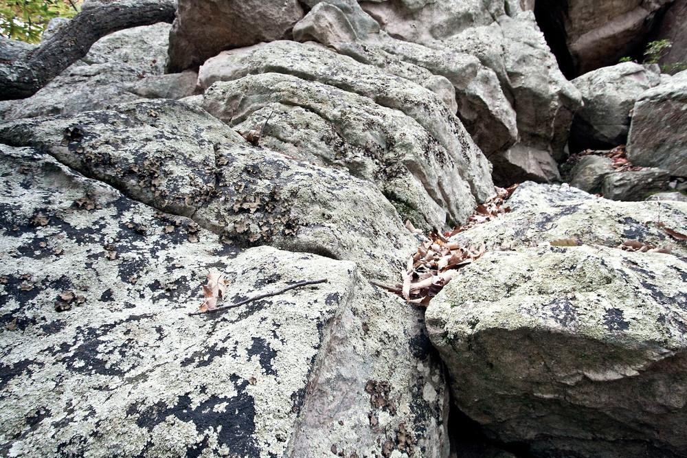 A Fine Art Photograph of Rocks in Sugarloaf by Michael Pucciarelli