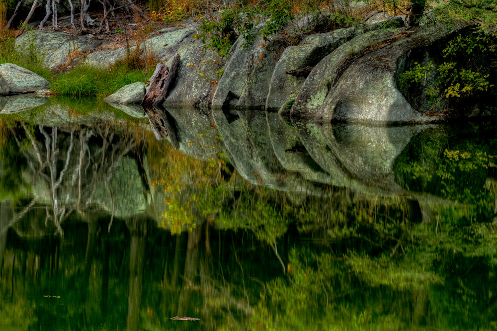 Great Falls Reflection Fine Art Photographs by Michael Pucciarelli