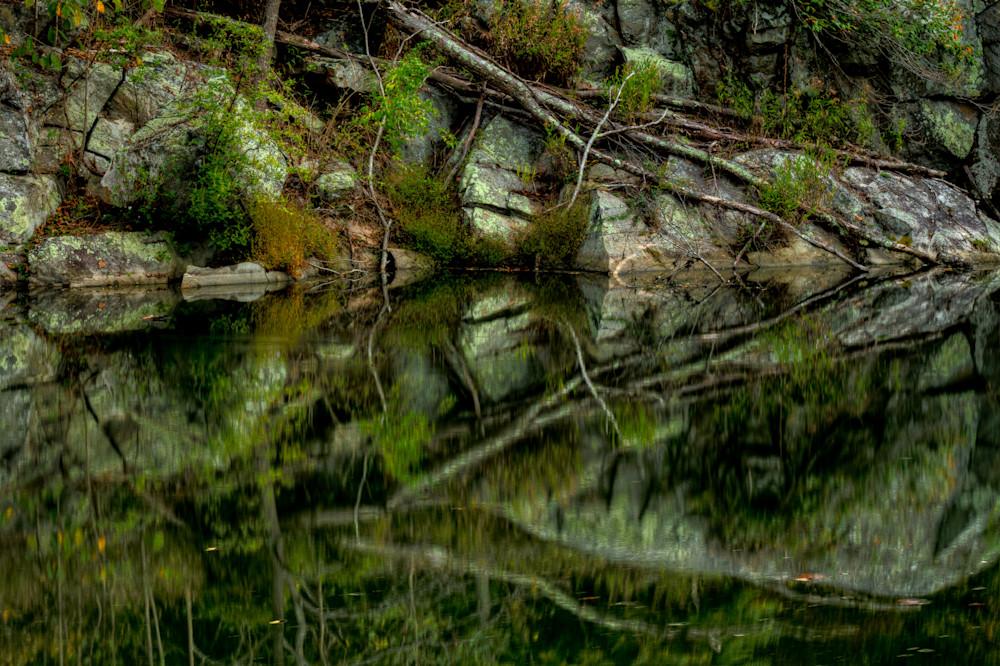 Great Falls Reflection Fine Art Photograph by Michael Pucciarelli