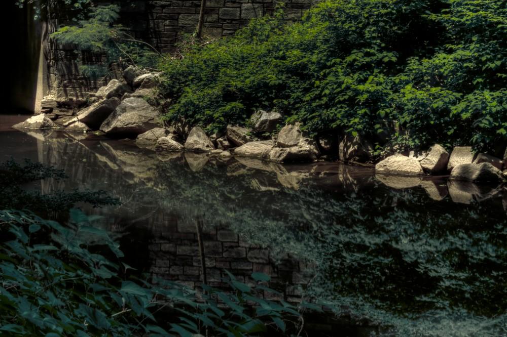 Kensington Rock Reflections Fine Art Photograph by Michael Pucciarelli