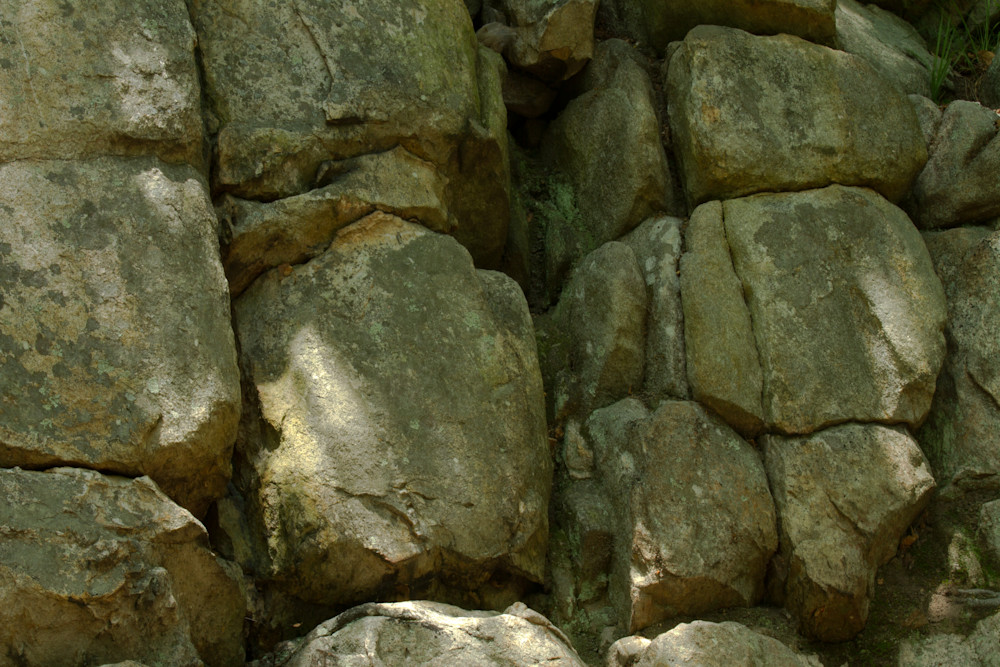 A Fine Art Photograph of Rocks in Sugarloaf Mountain by Michael Pucciarelli