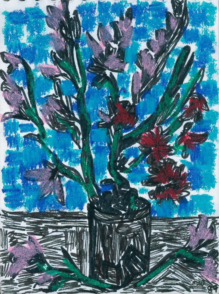 Van Gogh Gladioli