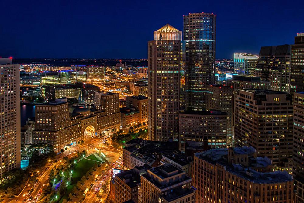 Boston overlooking the Greenway