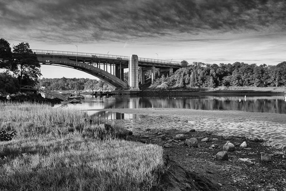 Annisquam Bridge from Periwinkle Lane