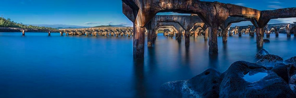 Ahukini Pier | Kauai Fine Art Photography, Hawaii
