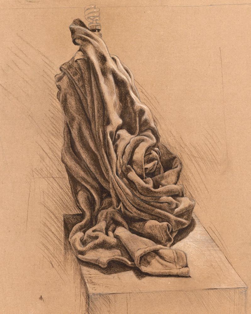 Fine Art Print - Drapery Study