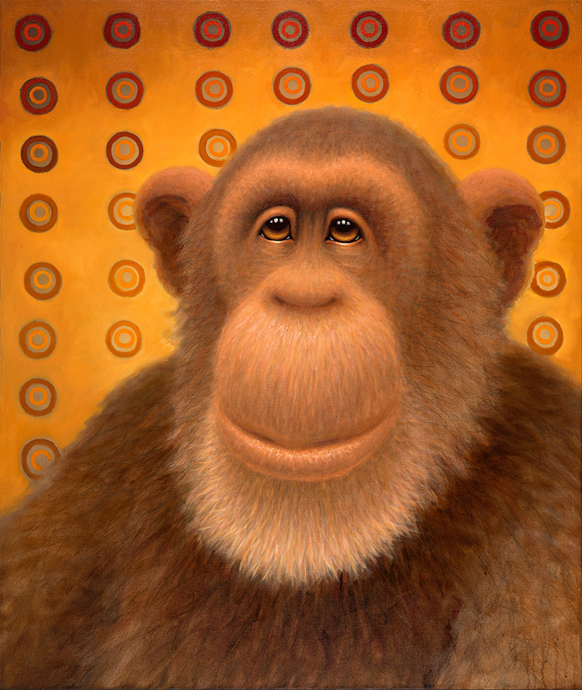 Psychedelic Chimp No. 2 Art | Fine Art New Mexico