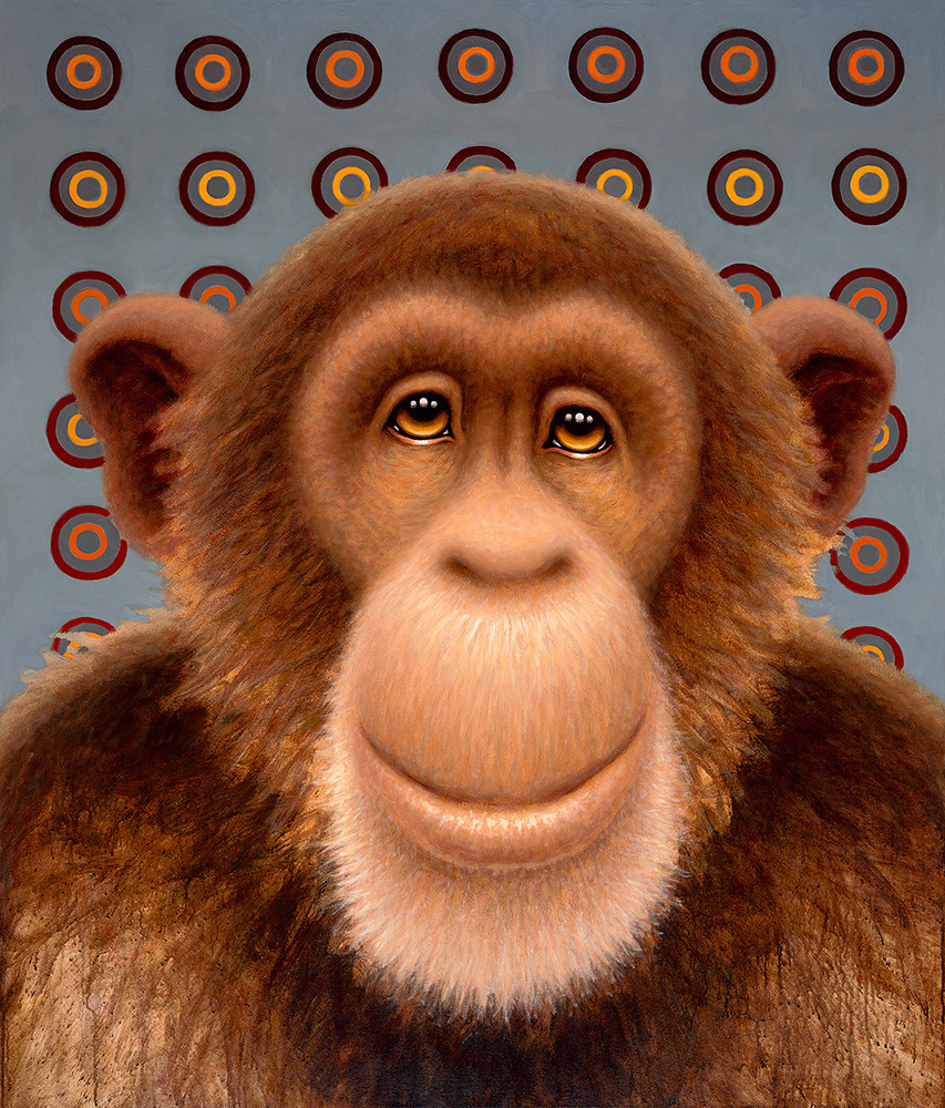Psychedelic Chimp No. 3