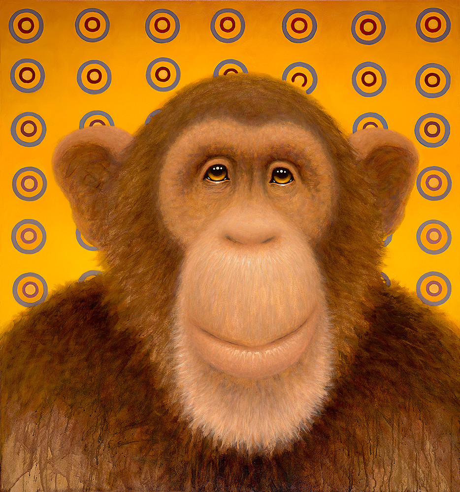 Psychedelic Chimp No. 1