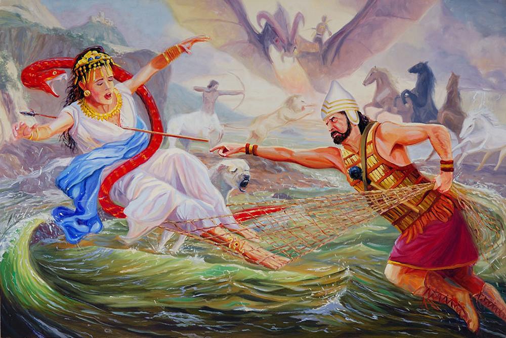 The Babylonian Creation Epic of the Enuma Elish