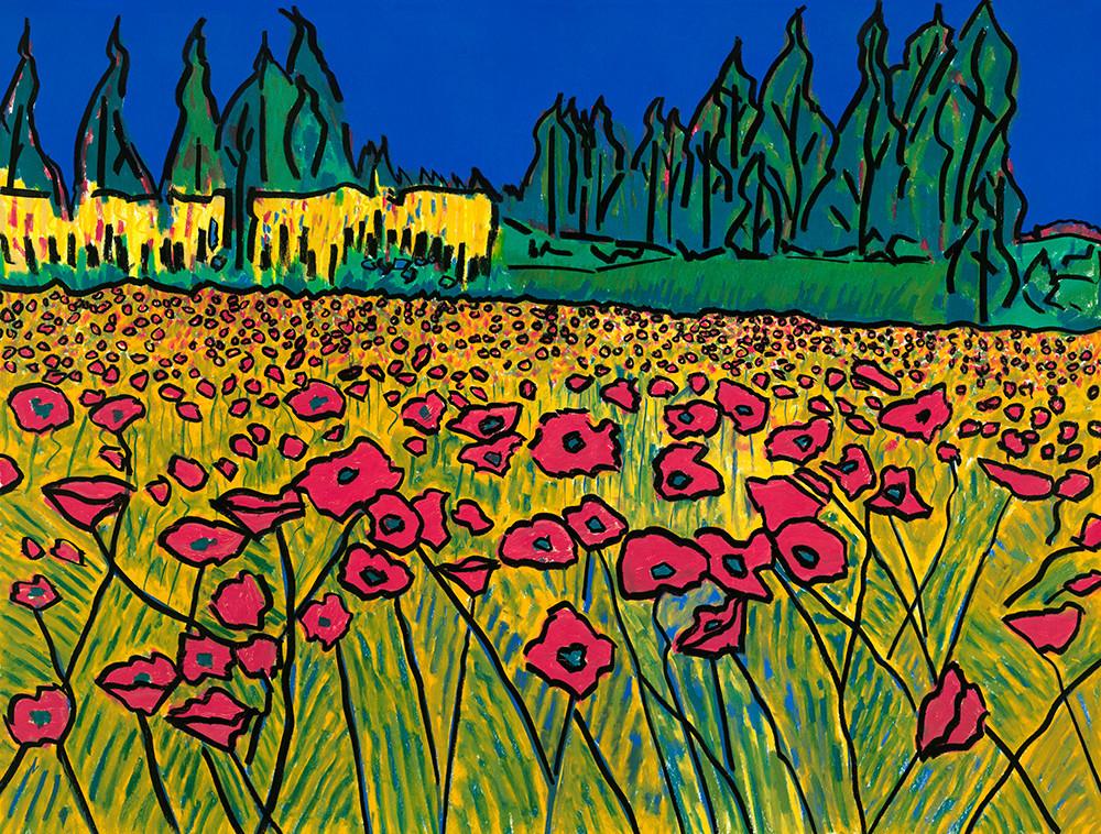 Poppy Field Art | Fine Art New Mexico