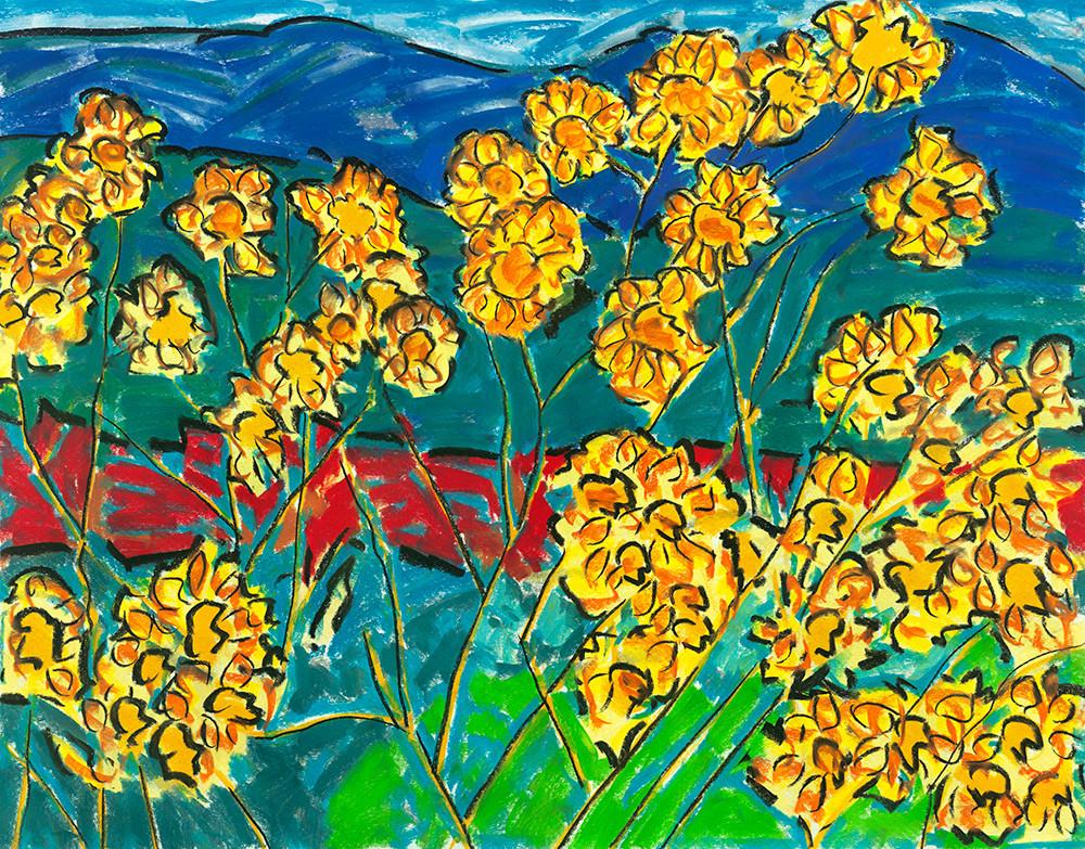 Maximillian Sunflowers Art | Fine Art New Mexico