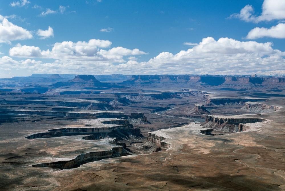 Canyonlands National Park, Utah; Green River Overlook, Islands in ...