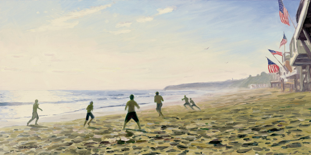 El Morro Beach Sand Football