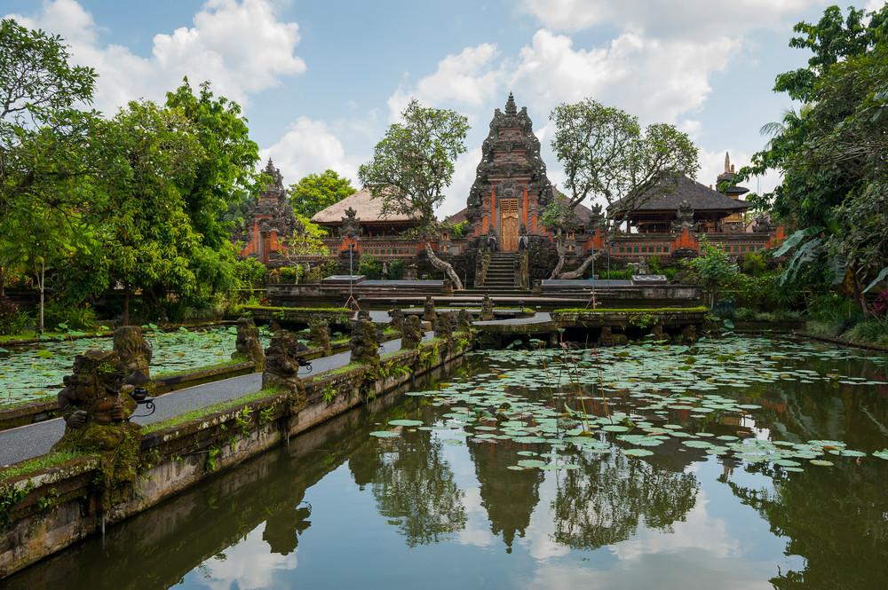 Balinese Hindu Temple, Ubud, Bali, Indonesia