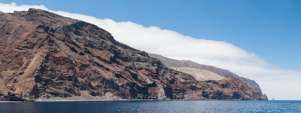 Guadalupe Island Pano, Baja California, Mexico