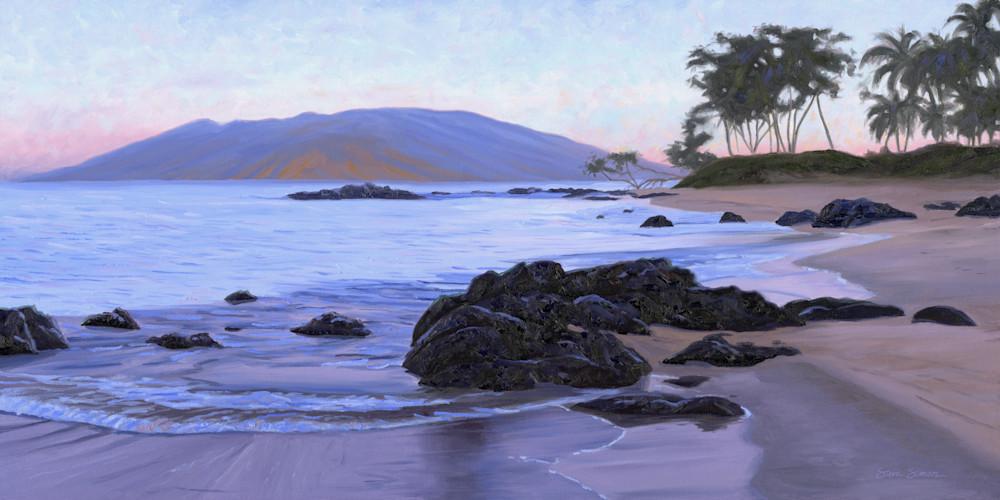 Sunrise on Mokapu Beach in Wailea
