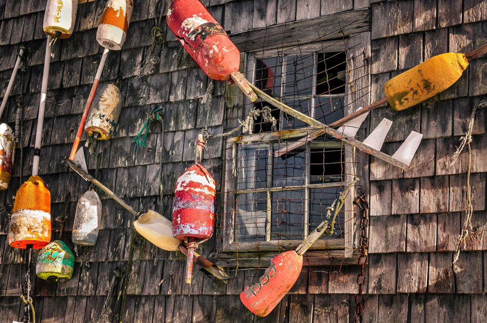 Cape Neddick Maine Lobster Shack photos for sale. Vintage window art prints