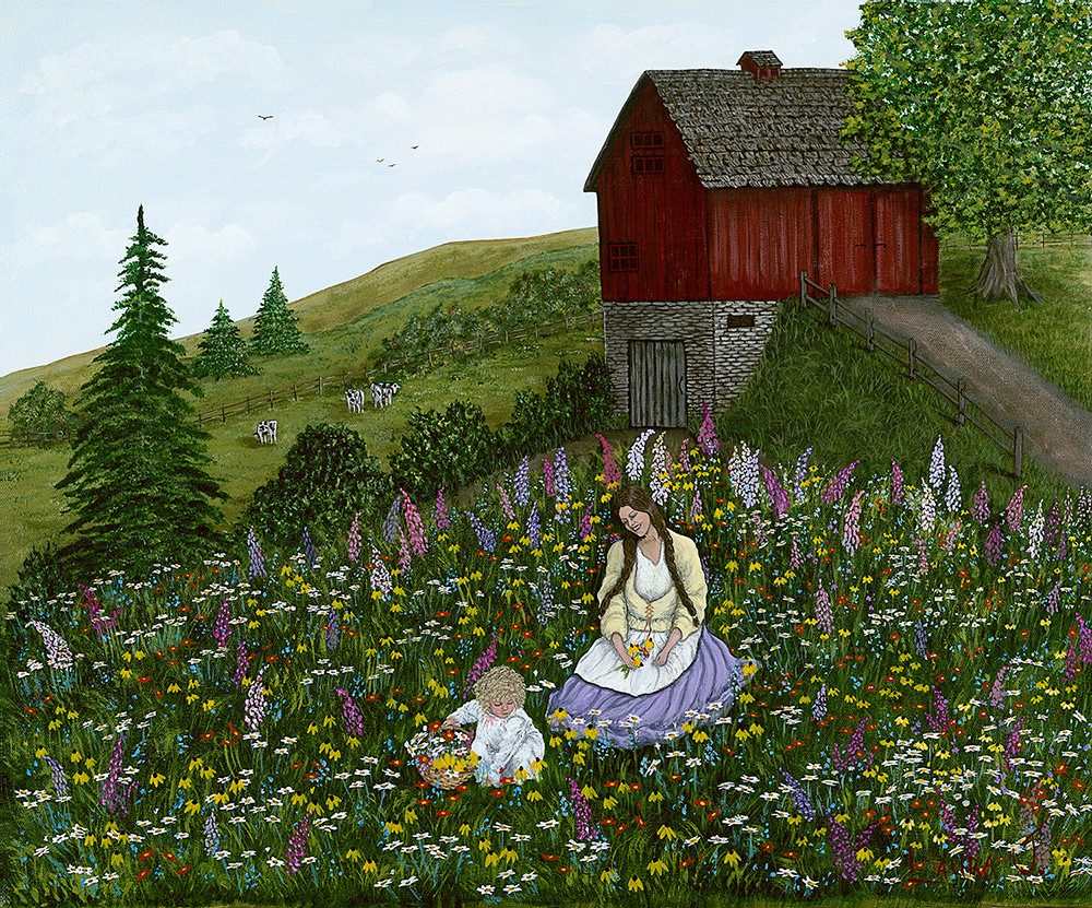 Gathering Wildflowers