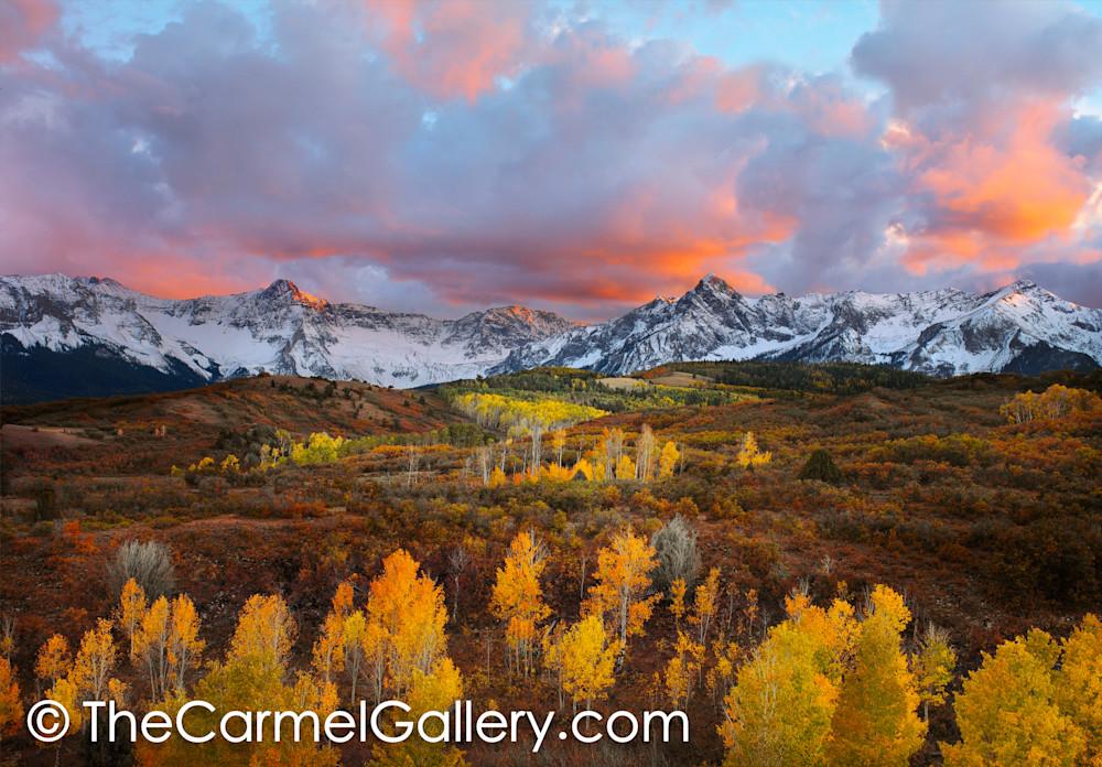 Autumn Sunset, Colorado