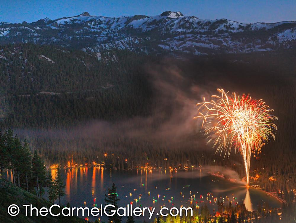 July 4, Donner Lake