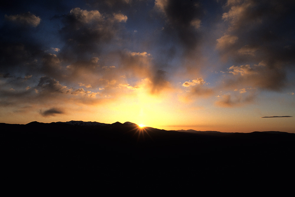 Taos Mountain, Sunset